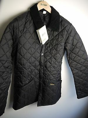 Barbour Men's Heritage Liddesdale, XXS, Black, New With Tags