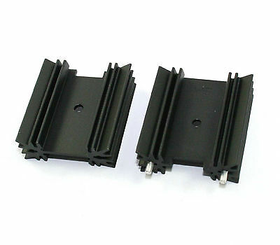 TO-220 Vertical Heatsink #627-15ABP - Lot of 10 ( 25Z005 )