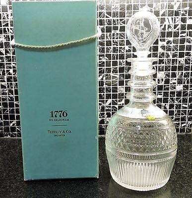 1776 By Seagram in the Tiffany Decanter with Box