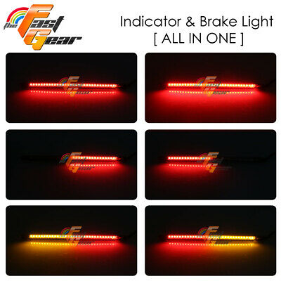 Fit Universal Motorcycle  Rear Black LED Tail Tidy number Plate Bracket Light