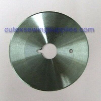"""3-1/2"""" Round Replacement Knife For Consew 515E Cutting Machine #RF16"""