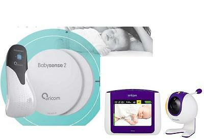 Oricom Secure 860 Baby Monitor+Babysense 2 Infant Respiratory Pack