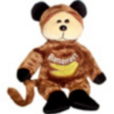 "Skansen Beanie Kid ""bananas"" The Monkey Bear  Mwmt"