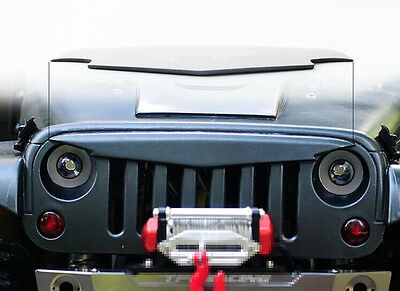 1/10 SCX10 Body Accessorie Jeep Wrangler Rubicon Sahara Anger Bird Grilles 136mm