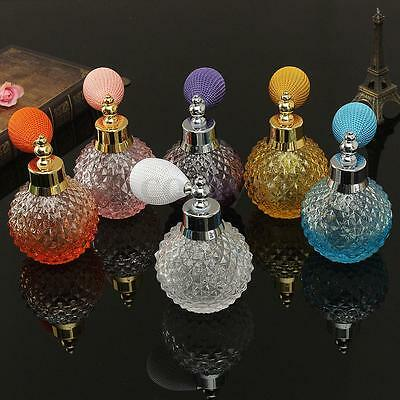 110ml Vintage Crystal Glass Atomizer Perfume Bottle Spray Fashion Lady Gift HOT