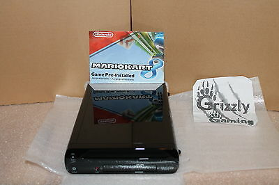 Brand New Wii U Black 32 GB Console Only & Mario Kart 8 Pre-Installed