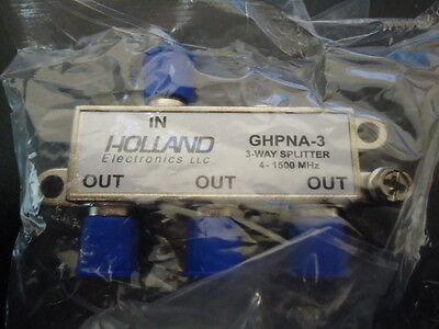 Lot of 50 Holland Splitter IPTV RF Broadband 3-Way HomePNA GHPNA-3