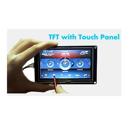 "7.0"" Nextion Smart USART HMI TFT LCD Touch Screen Display Module for Arduino"