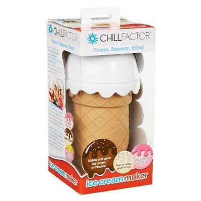 Chill Factor Ice Cream Maker Choc Delight