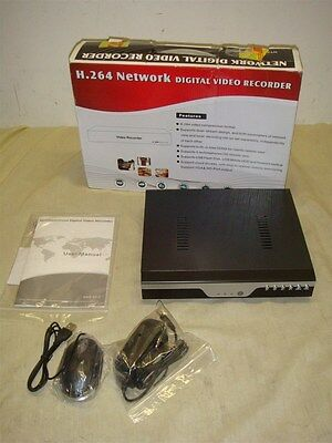 H.264 8 Channel Network Security Dvr With Hdmi & Vga Out - Read!