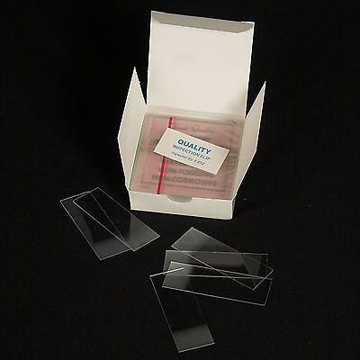 72 Glass Microscope Slides - SHIPS PRIORITY AT NO EXTRA CHARGE!