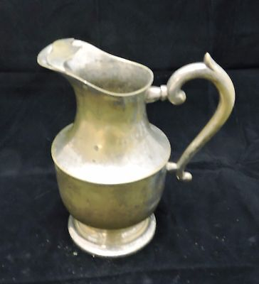 EPNS Antique Silver Plated Water Pitcher
