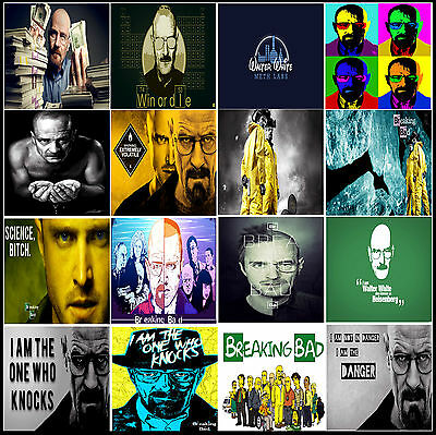 A3 / A4 Size * BREAKING BAD BEST TV DRAMA SERIES POSTER 2008 – 13 WALL CHART #26