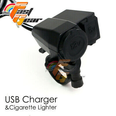 For Harley Davidson Fit iPhone HTC LG Cell phone GPS USB Power Charger 2.1A