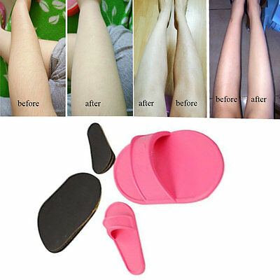 Exfoliating Hair Removal Kit Smooth Legs Skin Pads Arm Face Upper Lip Remover