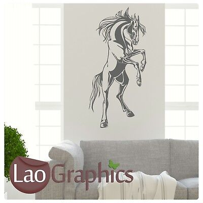 Giant Horse Box Wall Art Sticker Large Vinyl Transfer Graphic Stable Decal HO12