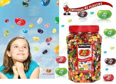 Jelly Belly Original Gourmet Jelly Bean 45 Flavours 1.8kg Most Famous New