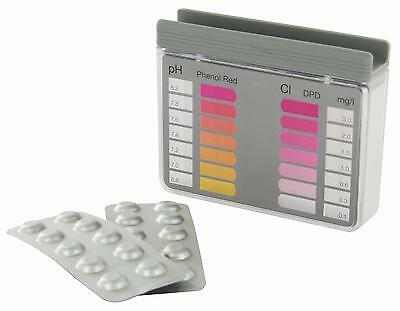 Testkit for pH value and free chlorine, 10 Tablets, Steinbach 079000 Pool