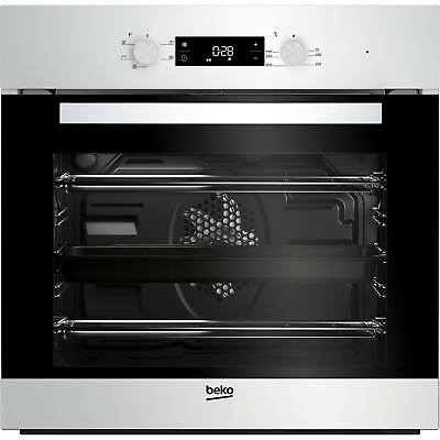 Beko BIF22300W A Rated Built-in Single Programmable Oven with Timer in White