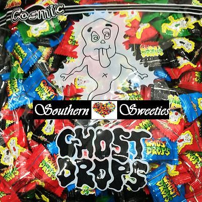 GHOST DROPS HALLOWEEN LOLLIES TRICK OR TREAT APPROX 120CT 540g