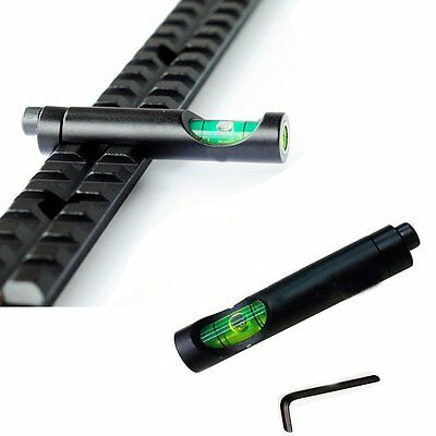 20mm Rail Metal Spirit Bubble Level for Hunting Rifle Sight Scope Mount