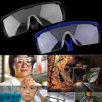 New Safety Eye Protection Glasses Goggles Lab Dust Paint Dental Industrial IB