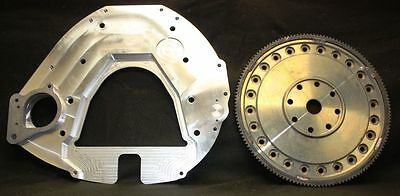 6BT Cummins Billet bell housing adapter plate & flexplate Ford 5R110 kit