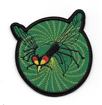 "The Green Hornet TV Series and Comics Logo 3"" Wide Embroidered Patch NEW UNUSED"