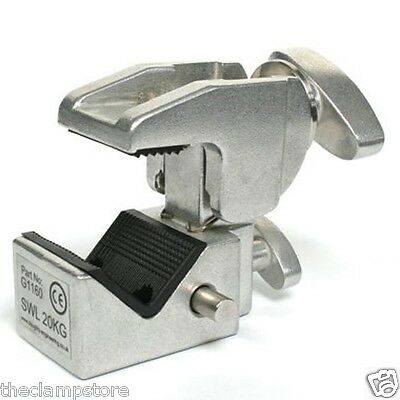 Doughty G1160 Supaclamp fits 50mm Truss & 35mm Flat Surface