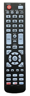 NEW USBRMT Remote Control XHY353-3 for Element TV ELEFW248 ELEFW505 ELEFT506