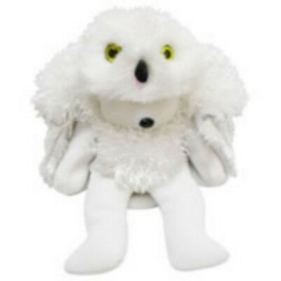 "Skansen Beanie Kid ""hooty"" The White Owl Bear  Mint With Mint Tag"