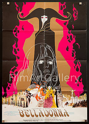 "BELLADONNA OF SADNESS 1973 20x28"" A Japanese/English Anime poster Filmartgallery"