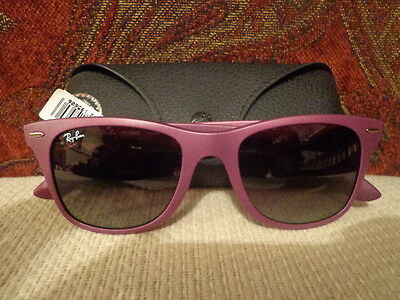 Ray-Ban Lite Force Sunglasses - RB4195 - 6087/4Q - Purple