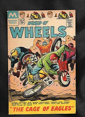 World Of Wheels #23 Vg  1978 Modern Comics