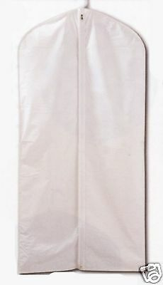 10 Children Garment Bag White 24 X 40""