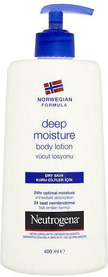 Neutrogena Norwegian Formula Deep Moisturiser Body Lotion - Dry Skin (400ml)