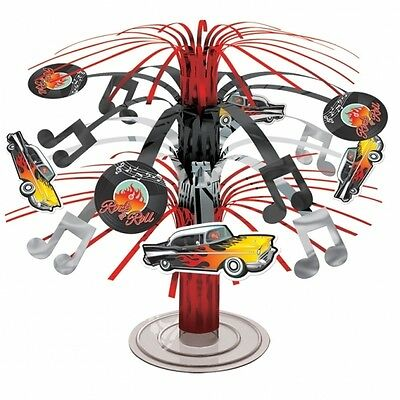 Classic 50's Classic Cars Rock N Roll Mini Cascade Table Centrepiece Decoration