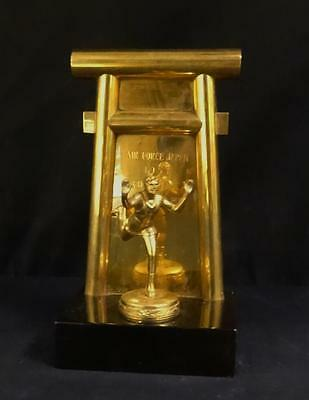 Beautiful 1951 US Air Force/Japan figural wrestling trophy US military!