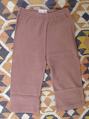 Vintage retro true 60s 18 mo unused toddler childrens  cotton warm ski pants