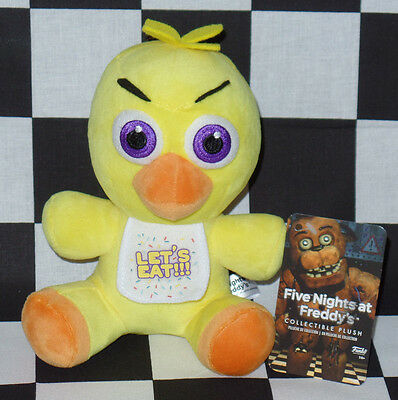 NWT FNAF Five Nights at Freddy's CHICA CHICKEN New Plush Funko OFFICIAL Licensed