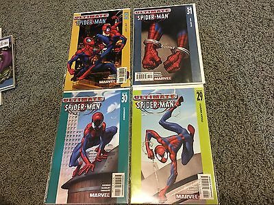 Ultimate Spider-man (2001) lot #29 30 31 32 VF/NM first print