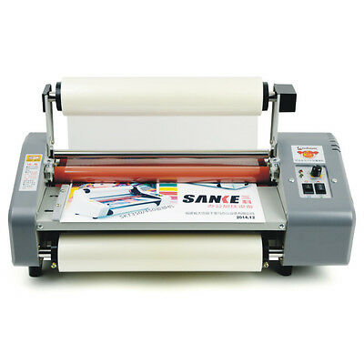 "2015 New version Four Rollers Hot and cold roll laminating machine for 13"" USG"
