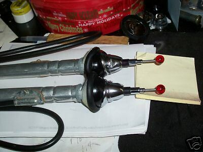 1940's-50's  GM ,Ford Chrysler Dual ANTENNAS Red Ball Hide a way    WARD NEW