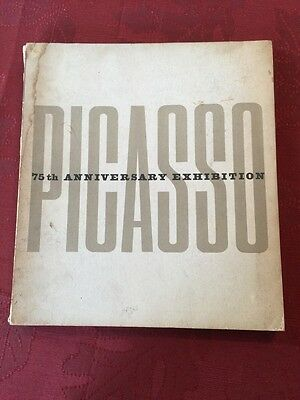 1957 PABLO PICASSO 75th ANNIVERSARY MOMA MUSEUM OF MODERN ART NY 1st EDITION