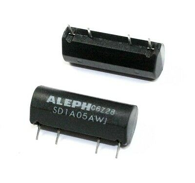 Aleph SIP Reed Relay SD1A05AWJ - Lot of 3  ( D1A05AWJ )