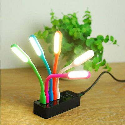 Flexible Bright Mini USB LED Light Computer Lamp for Notebook PC Laptop Reading