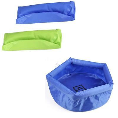 8L Foldable Inflatable Water Washbasin Wash Bag Quick Dry Picnic Fishing C0F3