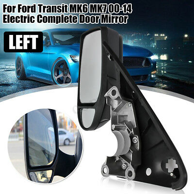 Left Passenger Electric Complete Door Wing Mirror Glass For Ford Transit MK6 7