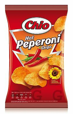 CHIO CHIPS - Hot Chili Chips - 175 gr bag - German Production