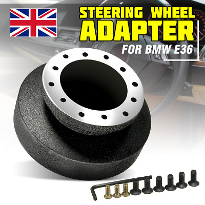 UK Snap Off Steering Wheel Racing Quick Release Hub Adapter Boss Kit Fit BMW E36